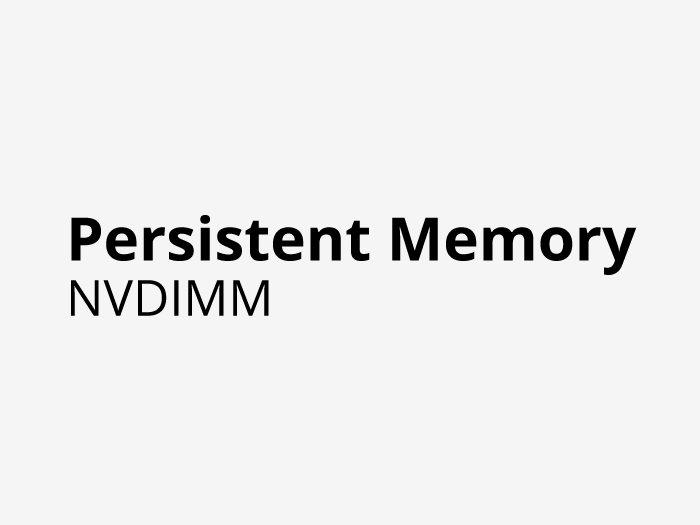 Persistent Memory - NVDIMM - SMART Modular