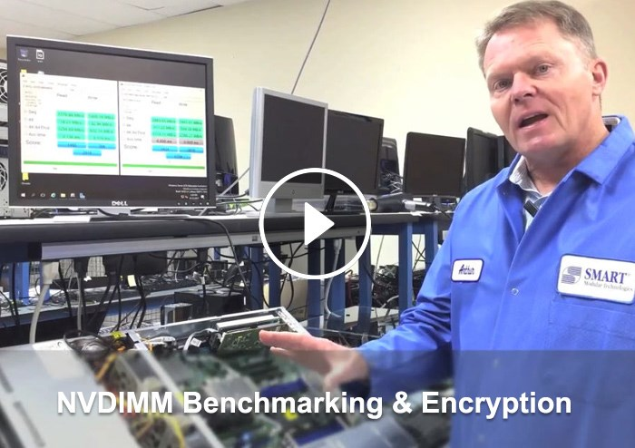 NVDIMM Benchmarking and Encryption video