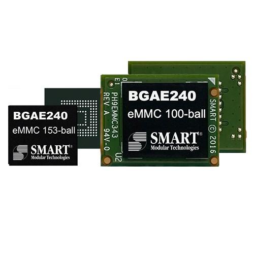 SMART_BGAE240_eMMC_153_ball_100_ball